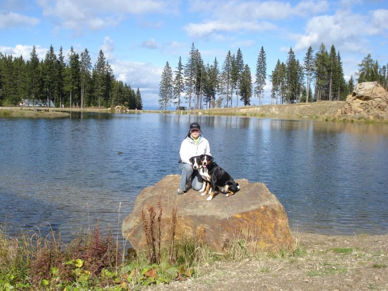 Jezero na horách