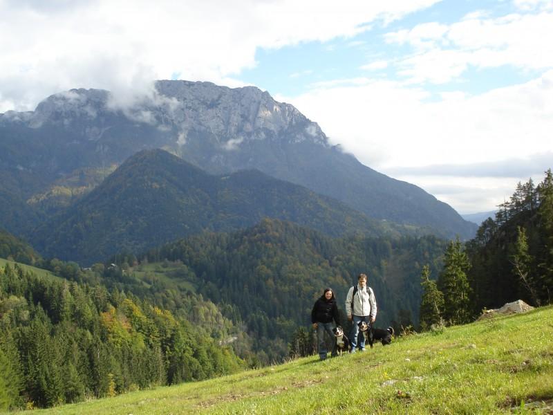 Kopce ve Slovinsku...nad Solčavou